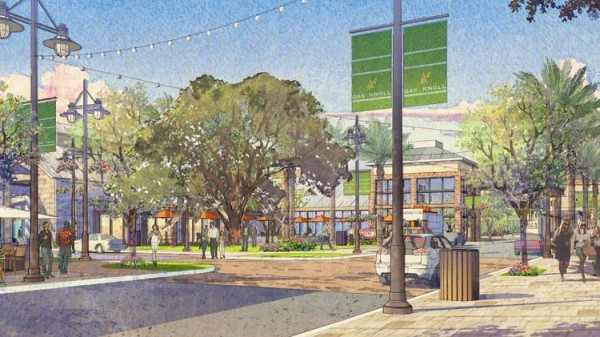 Oak Knoll will include 80,000 square feet of retail.